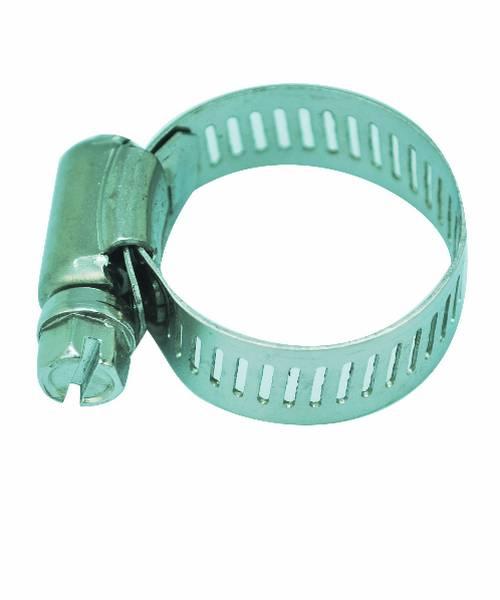 VAVO กิ๊ปรัดสายยางกว้าง ขนาด 1นิ้ว - สีเงิน