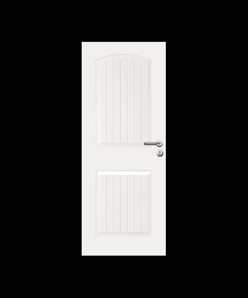 metro ประตู HDF CAPRI 70x200cm.  204 สุพรรณิการ์ สีขาว