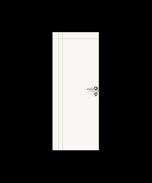 metro ประตู บานเรียบ PN04