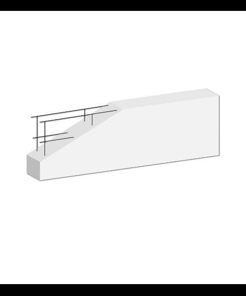DURA One คานทับหลังดูร่าวัน  7.5x20x210 ซม. สีขาว