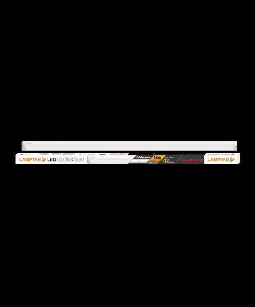 LAMPTAN ชุดเซ็ทแอลอีดี 14 วัตต์ วอร์มไวท์ GLOSS SLIM สีขาว