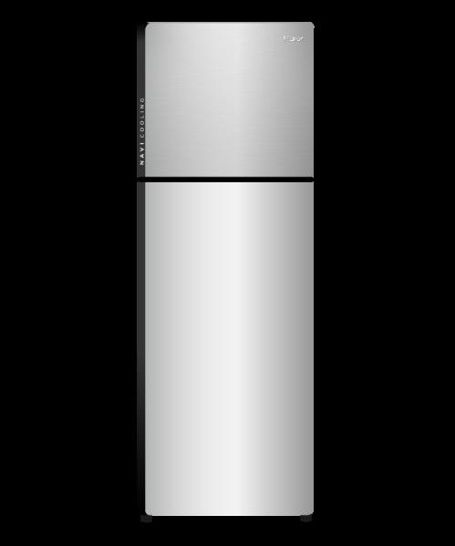 Haier ตู้เย็น 2 ประตู Navi cooling 9.6 คิว HRF-260 MNID สีเทาอ่อน
