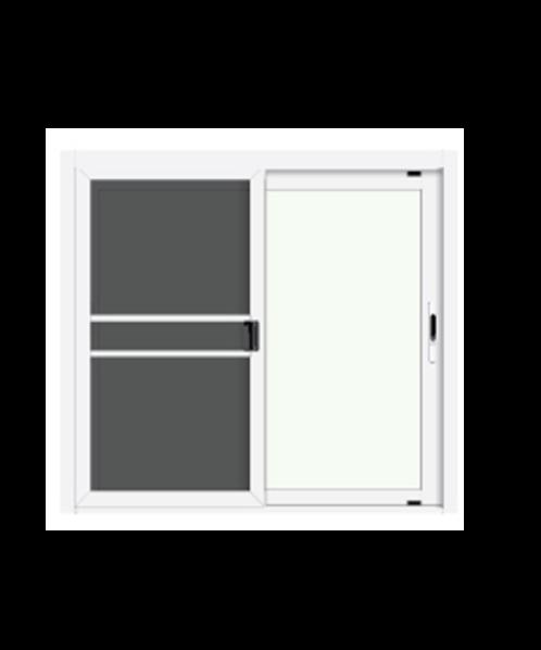 3G หน้าต่างอลูมิเนียมสำเร็จรูป X Series ขาว