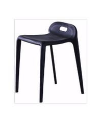 เก้าอี้โมเดิร์นพลาสติก KML026BK ดำ