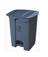 I-CLEAN ถังขยะพลาสติกทรงเหลี่ยม บรรจุ 68 ลิตร AF07317 เทา