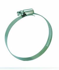VAVO กิ๊ปรัดสายยางกว้าง  ขนาด 3-1/2นิ้ว - สีเงิน
