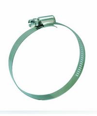 VAVO กิ๊ปรัดสายยางกว้าง ขนาด 3-3/4นิ้ว - สีเงิน