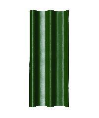 โอฬาร กระเบื้อง ลอนคู่ 5 มม. 50*120 ซม.(ลูกโลก)  สีเขียวหยก