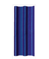 จิงโจ้ กระเบื้องลอนคู่ 4 มม. 50*120 ซม. (จิงโจ้) สีฟ้าเลิศนภา -