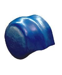 โอฬาร ครอบคู่ปิดจั่วลอนคู่สั้น (ลูกโลก) สีฟ้าเลิศนภา ลอนคู่ สีฟ้า