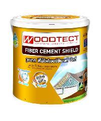 WOODTECT สีทาพื้นไฟเบอร์ซีเมนต์ FD502 สีเหลือง