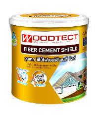 WOODTECT สีย้อมพื้นไม้ ไฟเบอร์ซีเมนต์ FD-504