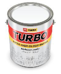 TURBO สีเคลือบเงา TURBO #8463 Coral Red 1 กล. -