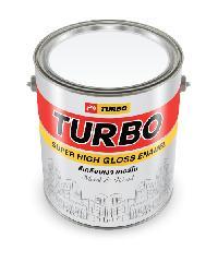 TURBO สีเคลือบเงา #9100 White 1 กล. -