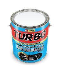 TURBO สีรองพื้นกันสนิมเหล็กกัลวาไนซ์ 1 กล. - สีแดง