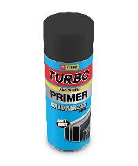 TURBO สีสเปรย์รองพื้นกันสนิมกัลวาไนซ์ - สีดำ