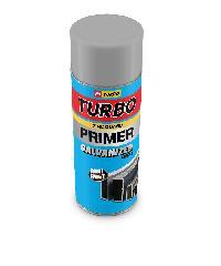 TURBO สีสเปรย์รองพื้นกันสนิมกัลวาไนซ์ TURBO สีบรอนซ์ -