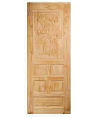 BEST ประตูไม้นาตาเซีย เกล็ดตลอด 80x200 -