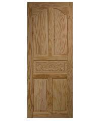 BEST ประตูไม้สน  ขนาด 80x200 cm. GC-52