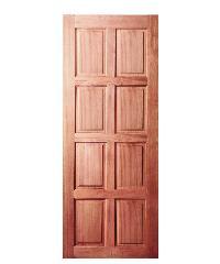 BEST ประตูไม้สยาแดง ขนาด 100x200 cm.     GS-48
