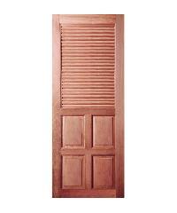 BEST ประตูไม้สยาแดง ขนาด 70x200 cm. GS-25