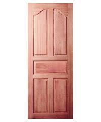 BEST ประตูไม้สยาแดง ขนาด 90x200 cm.     GS-30