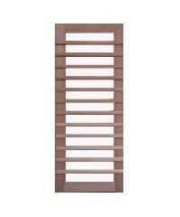 BEST ประตูไม้สยาแดง กระจกฝ้า ขนาด 90x200 cm. GS-59กร
