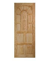 BEST ประตูไม้สน ขนาด 80x200 cm.                                GC-71
