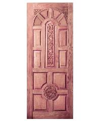 BEST ประตูไม้สยาแดง ขนาด 100x200 cm.                               GC-75