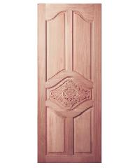 BEST ประตูไม้สยาแดง ขนาด 90x200 cm.  GC-53