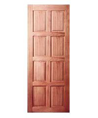 BEST ประตูไม้จาปาร์ก้า 100x200cm. BEST GS-48