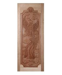 BEST ประตูไม้สยาแดง  ขนาด 80x220 cm. GC-16