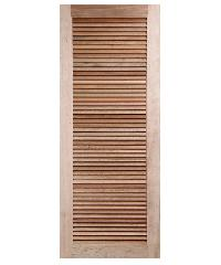 BEST ประตูไม้สยาแดง ขนาด 70x178 cm. GS-23