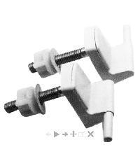 karat ชุดหูฝารองนั่ง K -703 สีขาว