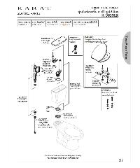 karat ชุดฝารองนั่ง มูนสโตน ทู K-98101X-WK สีขาว