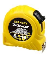 STANLEY ตลับเมตรโกลบอลเทป 5m. TECH 3 สีเหลือง