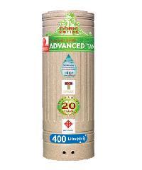 ADVANCE ถังเก็บน้ำบนดิน400L.(คละสี) Doric