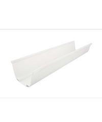 SCG รางน้ำฝนไวนิล ขนาด 3 เมตร  Deluxe สีขาว