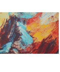 NICE รูปภาพพิมพ์ผ้าใบ Abstract-Painting  ขนาด  70x50 ซม. (ก.xส.) C7050-26