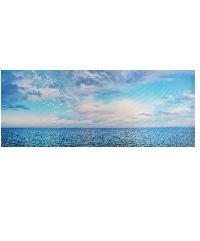 NICE รูปภาพพิมพ์ผ้าใบ View-Sea ขนาด 90x36ซม. (ก.xส.) (วิวทะเล) C9436-10