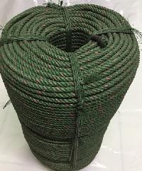 ท่อยางไทย เชือกขี้ม้า 9 มม เชือกขี้ม้า 9 มม สีเขียว