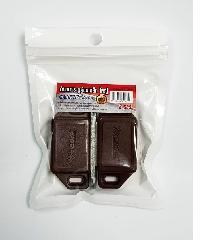 WEIBOYA กันชนประตูตู้แม่เหล็ก  ใหญ่ (2ชิ้น/แพ็ค) น้ำตาล