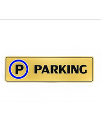 Cityart nameplate ป้าย PARKING SGB9101 สีทอง
