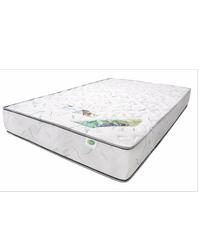 WEWINNER ที่นอนฟองน้ำอัด  Blue Dimond 3.5x8 ผ้ายืด สีขาว