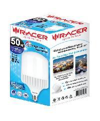 RACER หลอดแอลอีดี ไฮวัตต์ บีมแม็กซ์ 50 วัตต์ แสงขาวRacer