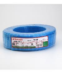 RACER สายไฟ IEC01 THW 1x2.5 Sq.mm100M.สีฟ้า  RACER สายไฟ IEC01 THW 1x2.5 Sq.mm100M.สีฟ้า  RACER สีฟ้า