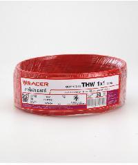 RACER สายไฟ IEC05 IV 1x130M แดง