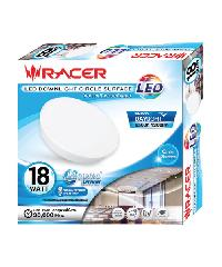 RACER ดาวน์ไลท์ LED CIRCLE SURFACE 18W (ติดลอยกลม) 13201LLJJ000184