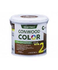 CONWOOD คอนวูดคัลเลอร์ สีย้อมไม้ สีวอลนัท 3.785ลิตร