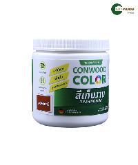 CONWOOD สีเก็บงาน สีมะฮอคกานี